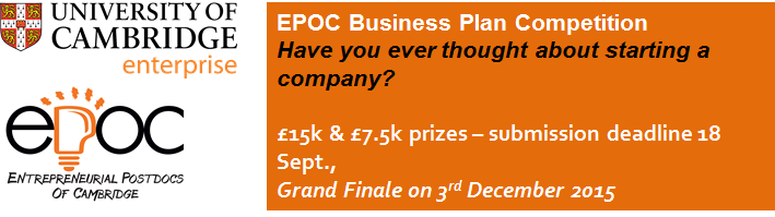 Business Plan Competition 2015